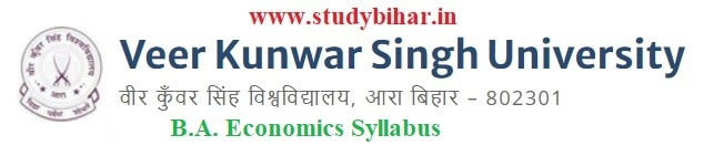 Downlaod B.A. in Economics Syllabus of Veer Kunwar Singh University, Ara-Bihar
