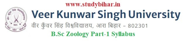 Download the B.Sc Zoology Part-1 Syllabus of Veer Kunwar Singh University, Ara-Bihar