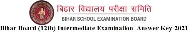 Downlaod- Answer Key of Class-12 (Intermediate) Objective Examination.