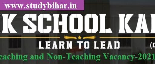 Apply - Teaching and Non-Teaching Vacancy-2021 in Sainik School Kalikiri, Last Date-10/04/2021.