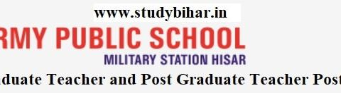 Apply Online for Graduate Teacher and Post Graduate Teacher Posts in 2021, Last Date- 17/04/2021.