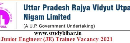 Apply Online for Junior Engineer (JE) Trainee Vacancy in UPRVUNL, Last Date-05/05/2021.