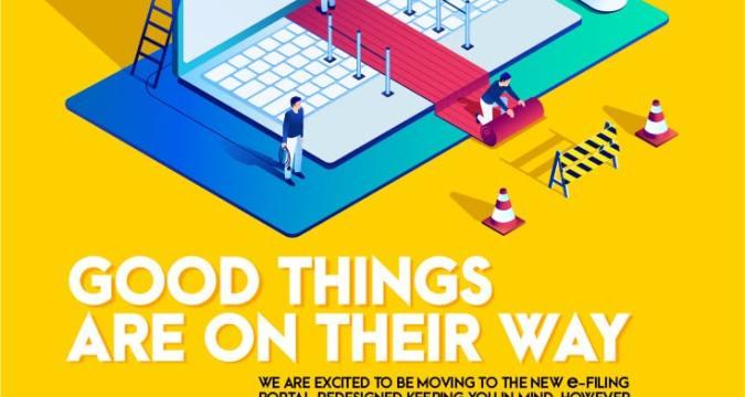 New e-Filing Portal wwwincometaxgovin launch on June 7th