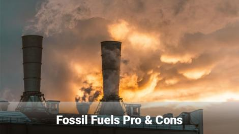 Fossil fuels pros and cons