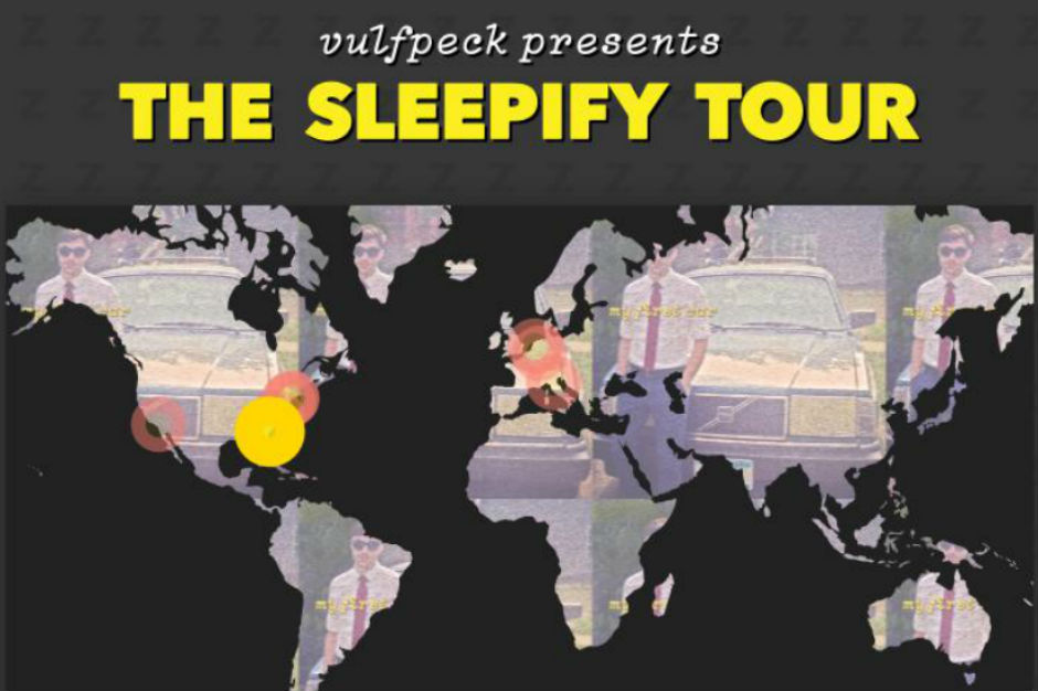 Volfpeck raised funds for a tour by releasing a silent album on Spotify called Sleepify