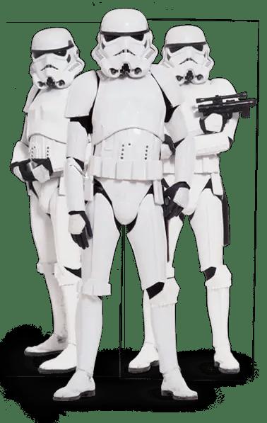 Stormtroopers' OOTD