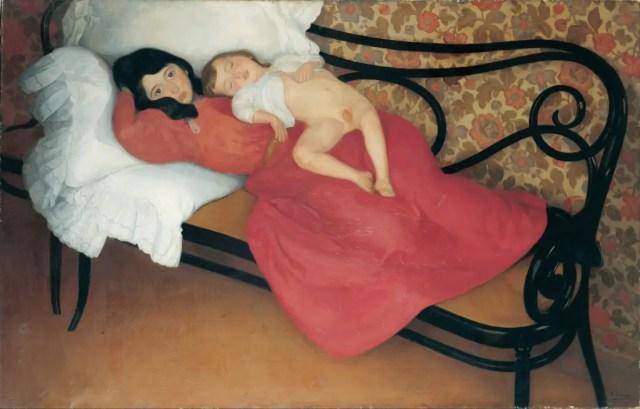 Ángel_Larroque_-_Motherhood_-_Google_Art_Project