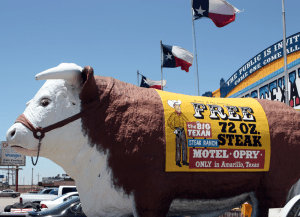 Amarillo's Big Texan