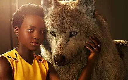 Lupita Nyong'o in Black Panther film