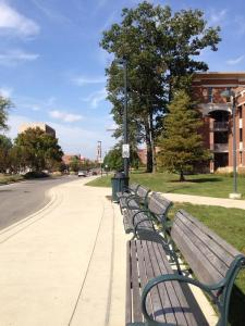Ball State Campus; Muncie, Indiana