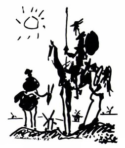 Don Quixote by Pablo Picasso