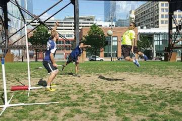 At the Quidditch Club at Drexel University, Students Play the Sport That Lived