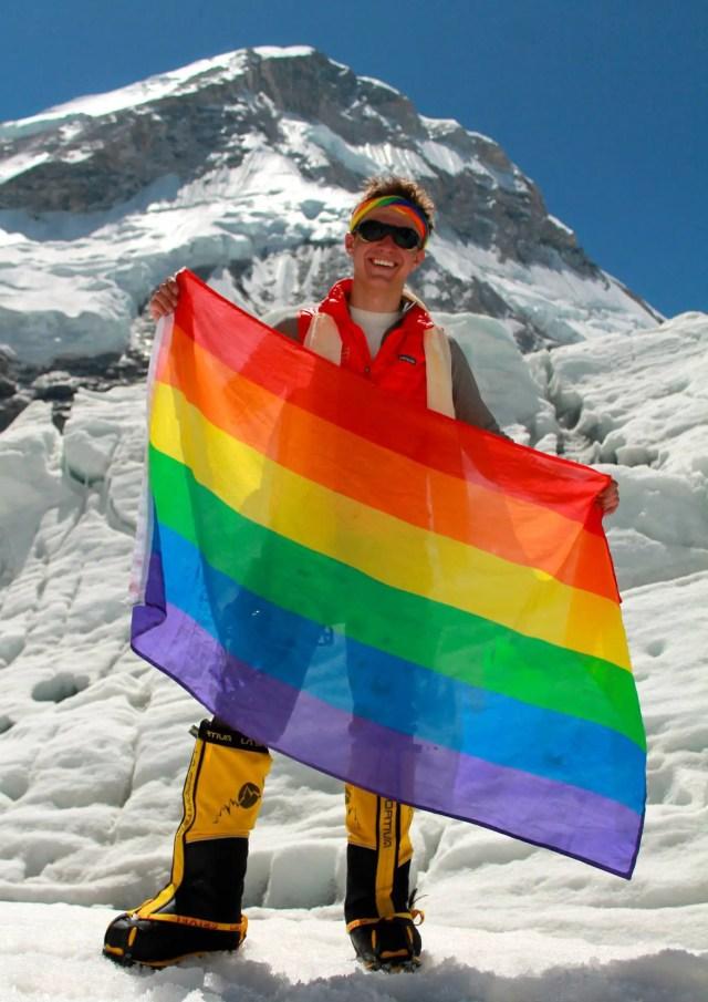 Princeton Student Cason Crane Summits Peaks to Save LGBTQ Lives