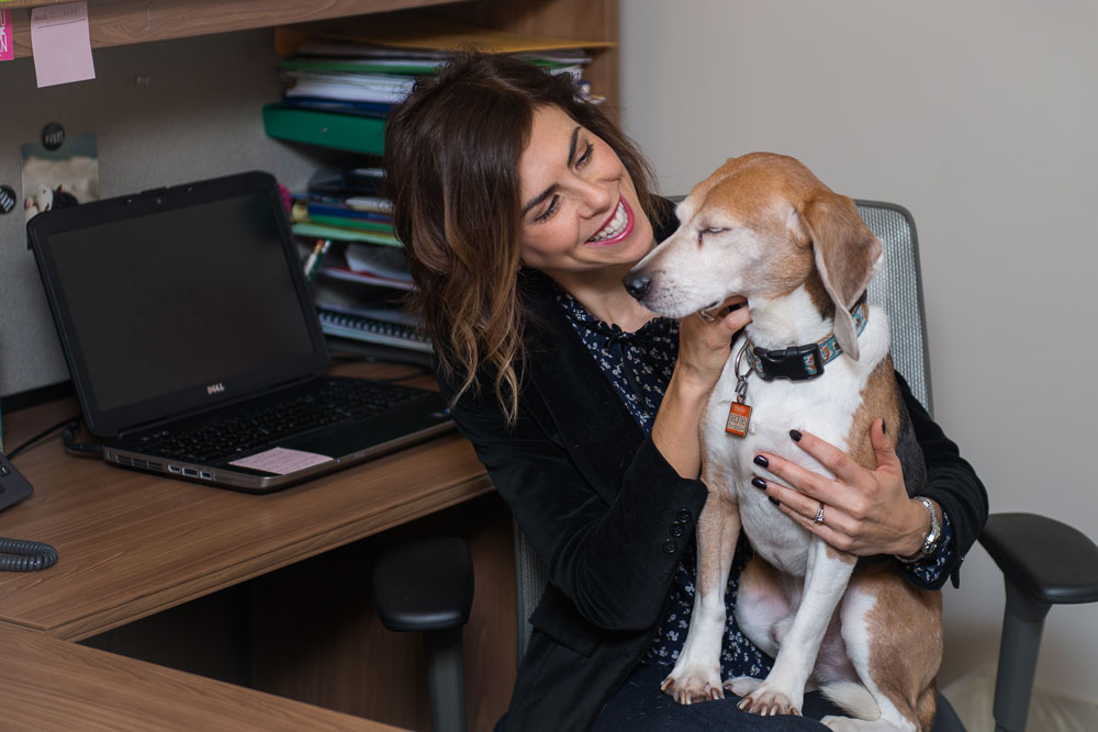Dr. Stacy Lopresti-Goodman Is Solving Puppy PTSD