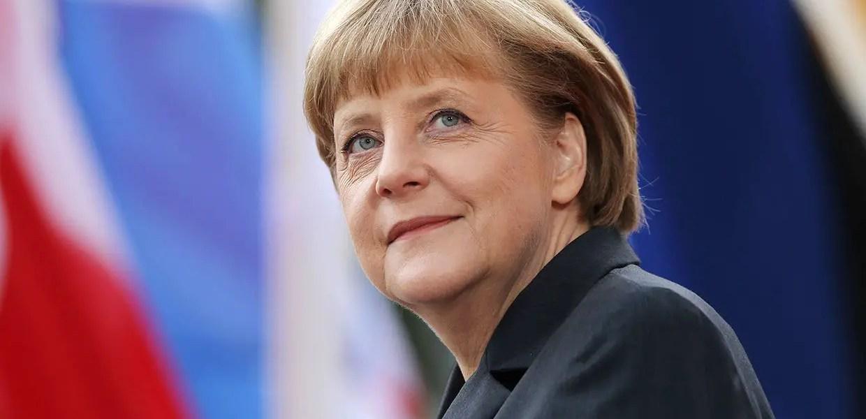 German Chancellor Angela Merkel Is an International Comfort
