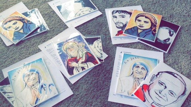 This Tory University Student Is Making a Business Selling Wild Religious Paintings
