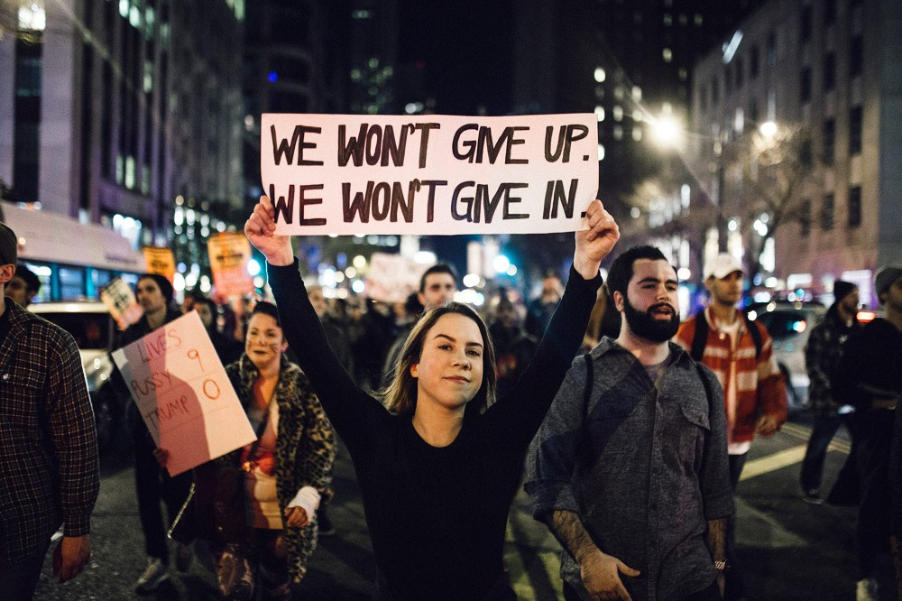 When Did Protests Go from Brave to Contemptible?