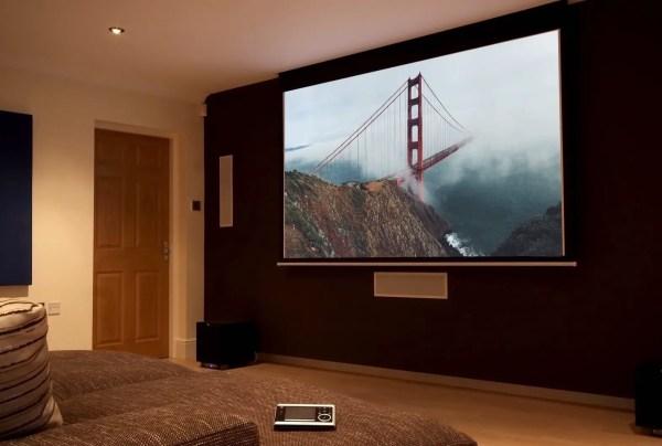 Flat Screen TV Wall Projector