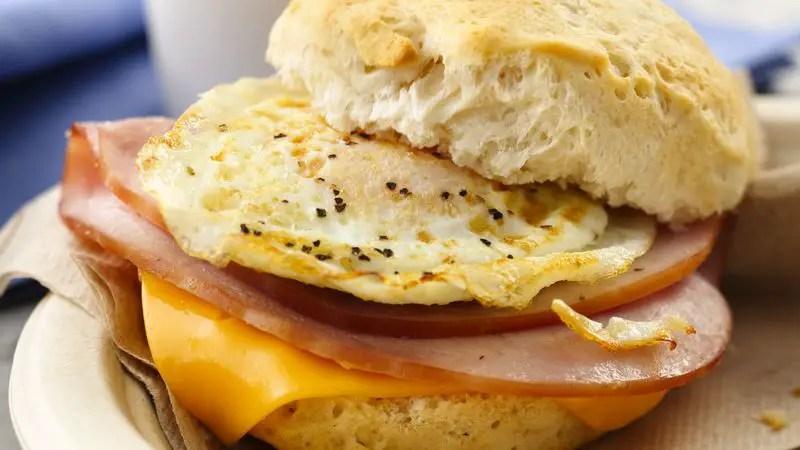 breakfast sandwich Caffeine-sensitive