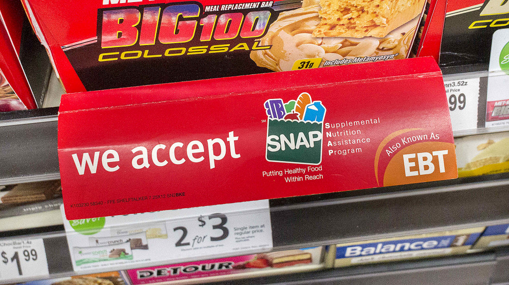 The Trump Administration Wants to Drug Test Food Stamp Recipients