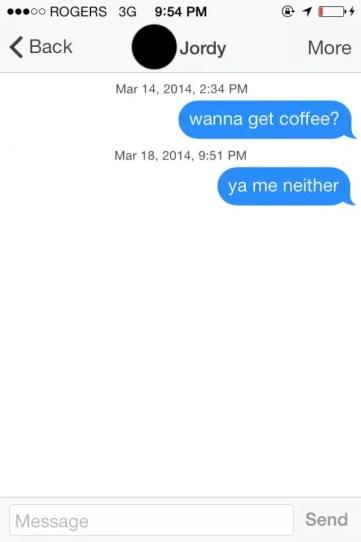 Tinder date