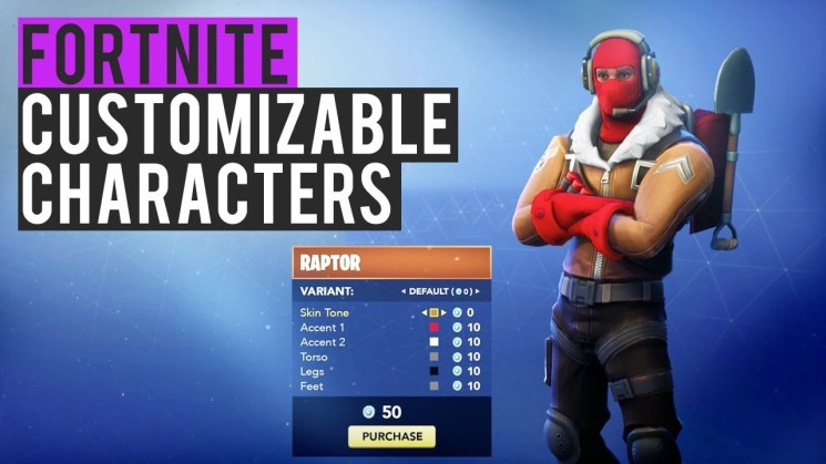 the 5 different types of fortnite players from the eye of the storm