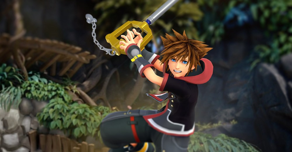 """Sora is always optimistic, which plays a big role in making """"Kingdom Hearts"""" appealing to gamers. (Image via Zerochan)"""