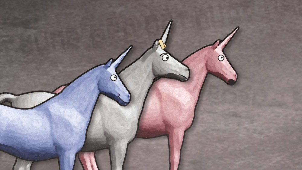 """""""Charlie the Unicorn"""" became a cult classic for middle school '90s kids. (Image via YouTube)"""