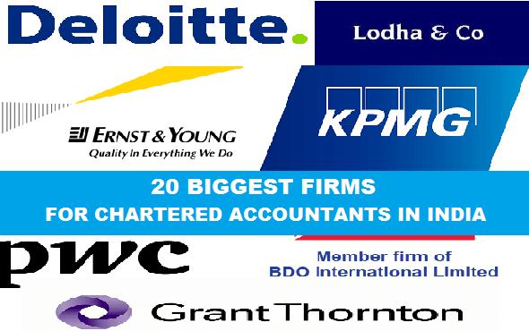 Top 20 CA Firms in Mumbai for Articleship