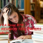 Download CA Final RTP May 2019   Download CA Final Revision Test Papers