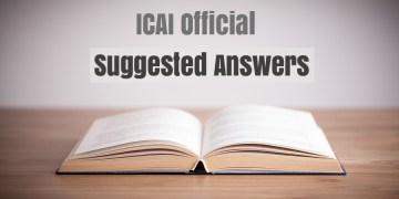 CA Final May 2017 Question Papers with suggested Answers