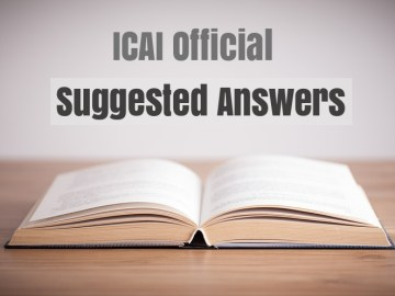 Download CA Final Suggested Answers May 2017: ICAI