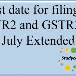 Last date for filing of GSTR2 and GSTR3 for July Extended