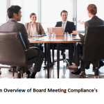 An Overview of Board Meeting Compliance's