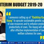 Budget Summary with Major Highlights of The Interim Budget 2019-20