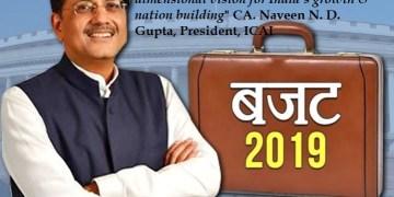 ICAI Expressed Views on Interim Budget 2019