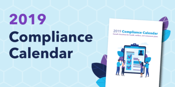 Corporate Compliance Calendar for the month of May 2019