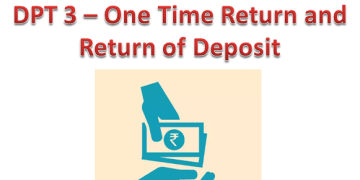 Deposit Compliance – eform DPT 3 – One Time Return and Return of Deposit