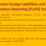 RBI to revise Foreign Liabilities and Assets Information Reporting (FLAIR) System