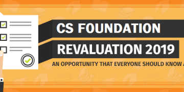 Verification of Marks Procedure For CS Foundation June 2019 Exam