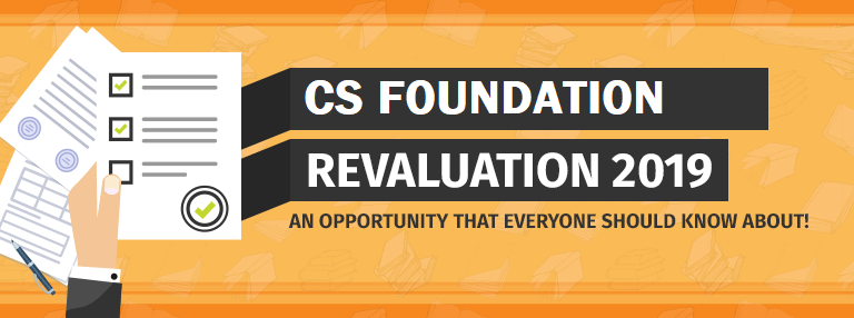 Verification of Marks Procedure For CS Foundation June 2019 Exam