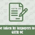 Steps to be taken by taxpayers to file Form GSTR 9C