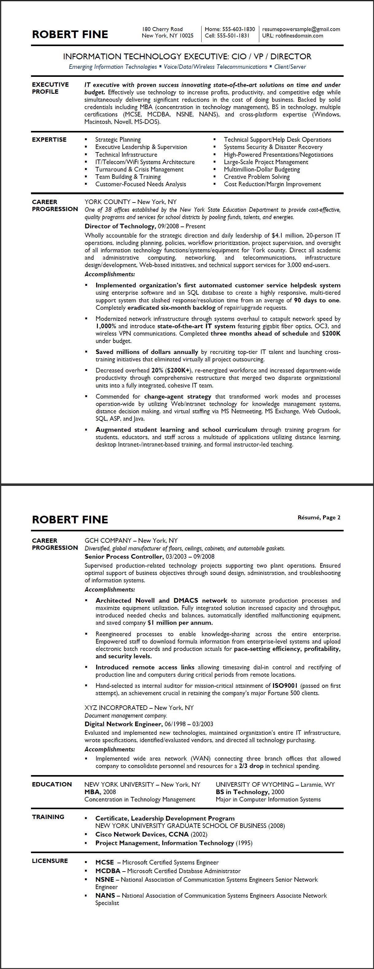 Executive Mba Resume Examples Websitereports45 Web Fc2 Com