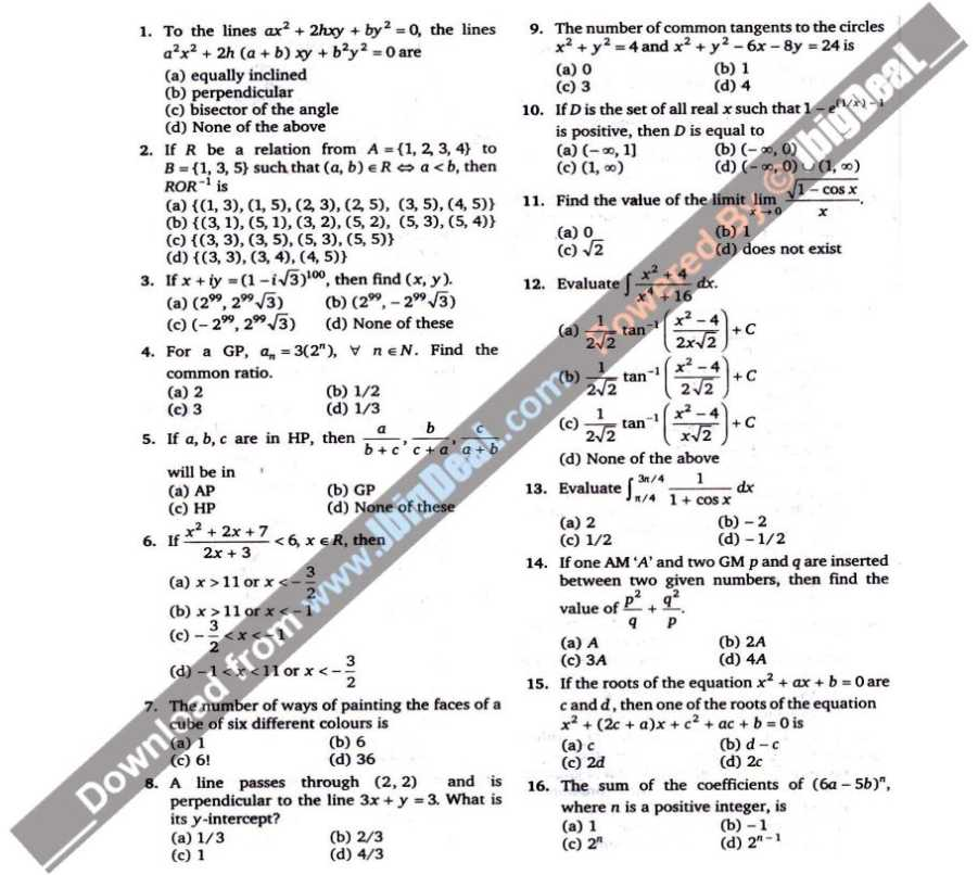 VIT entrance exam previous years solved question paper