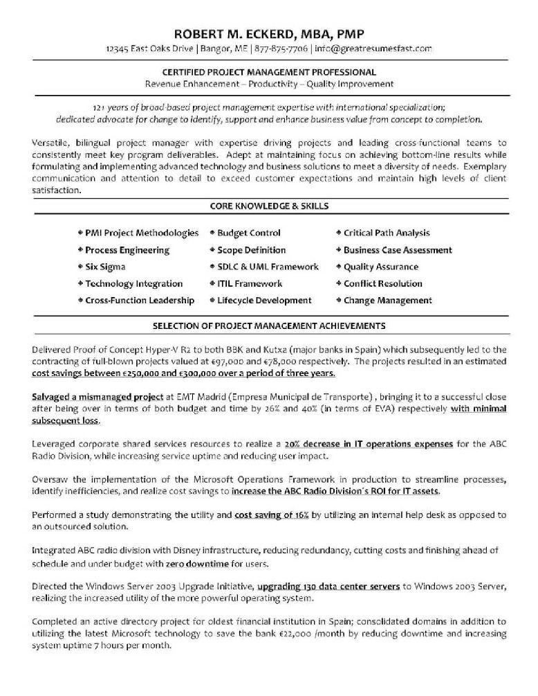 Wharton Mba Resume Book Pdf | Types Of Resumes And Examples