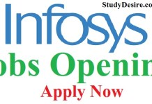 Infosys Recruitment 2019
