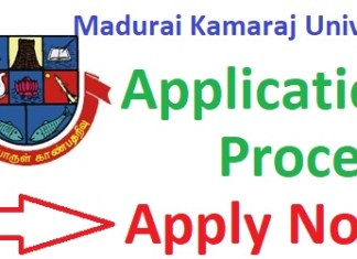 Madurai Kamaraj University Admission 2019