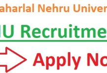 JNU Recruitment 2019