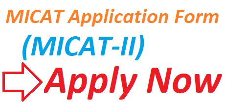 MICAT Application Form 2019