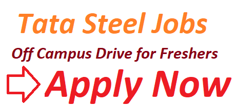 Tata Steel Jobs 2019